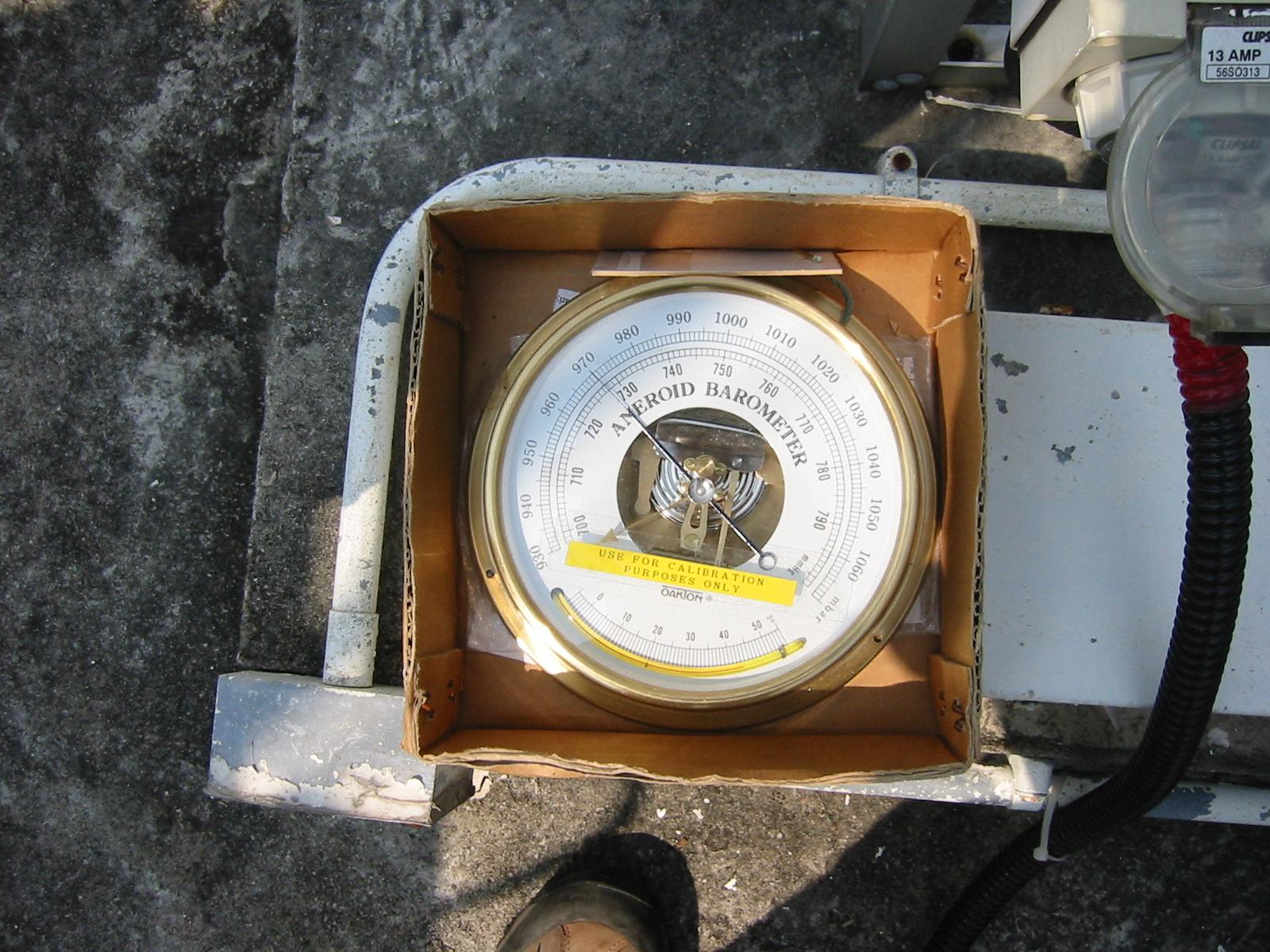 Dry Gas Meter : Album barometer