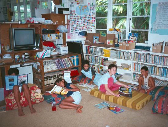 School On Pitcairn Island
