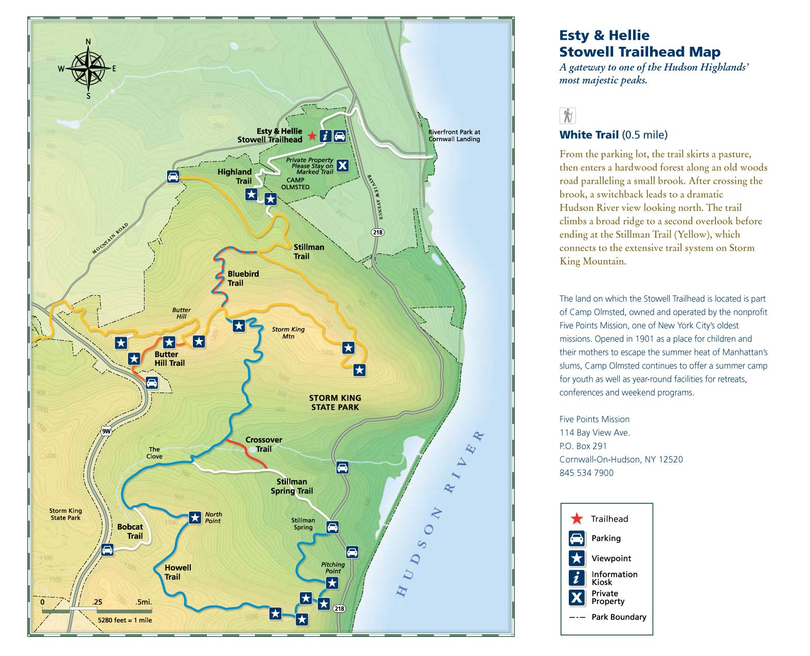 Storm King State Park Trail Map Walks In Westchester